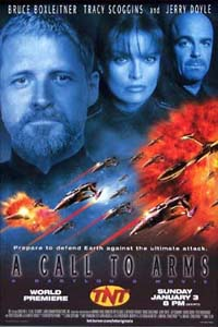 Babylon 5 A Call to Arms TNT Poster