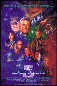 Babylon 5 Hugh Fleming Poster