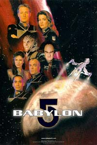 Theoretical Babylon 5 Third Season Poster
