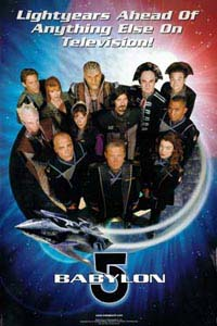 Babylon 5 Fourth Season Poster