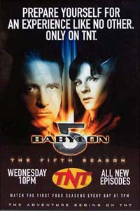 Babylon 5 Fifth Season TNT Poster