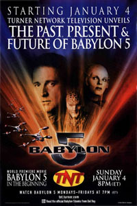 Babylon 5 In the Beginning TNT Poster