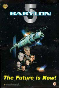 British Babylon 5 Video Poster