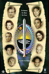 Babylon 5 Fan Club Poster